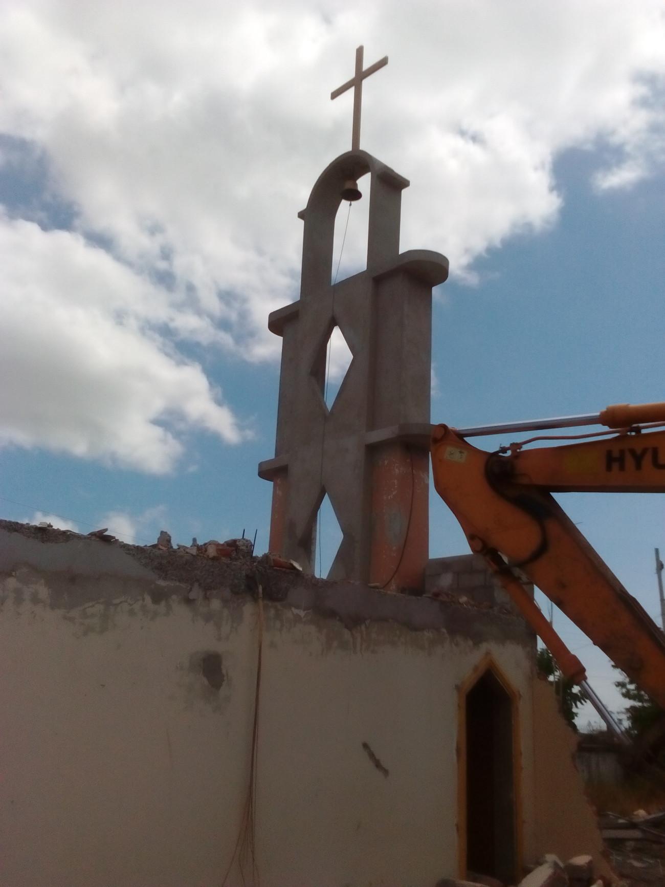 Reconstrucci n de la iglesia de san juan bosco en manta for Oficina 2038 bankia