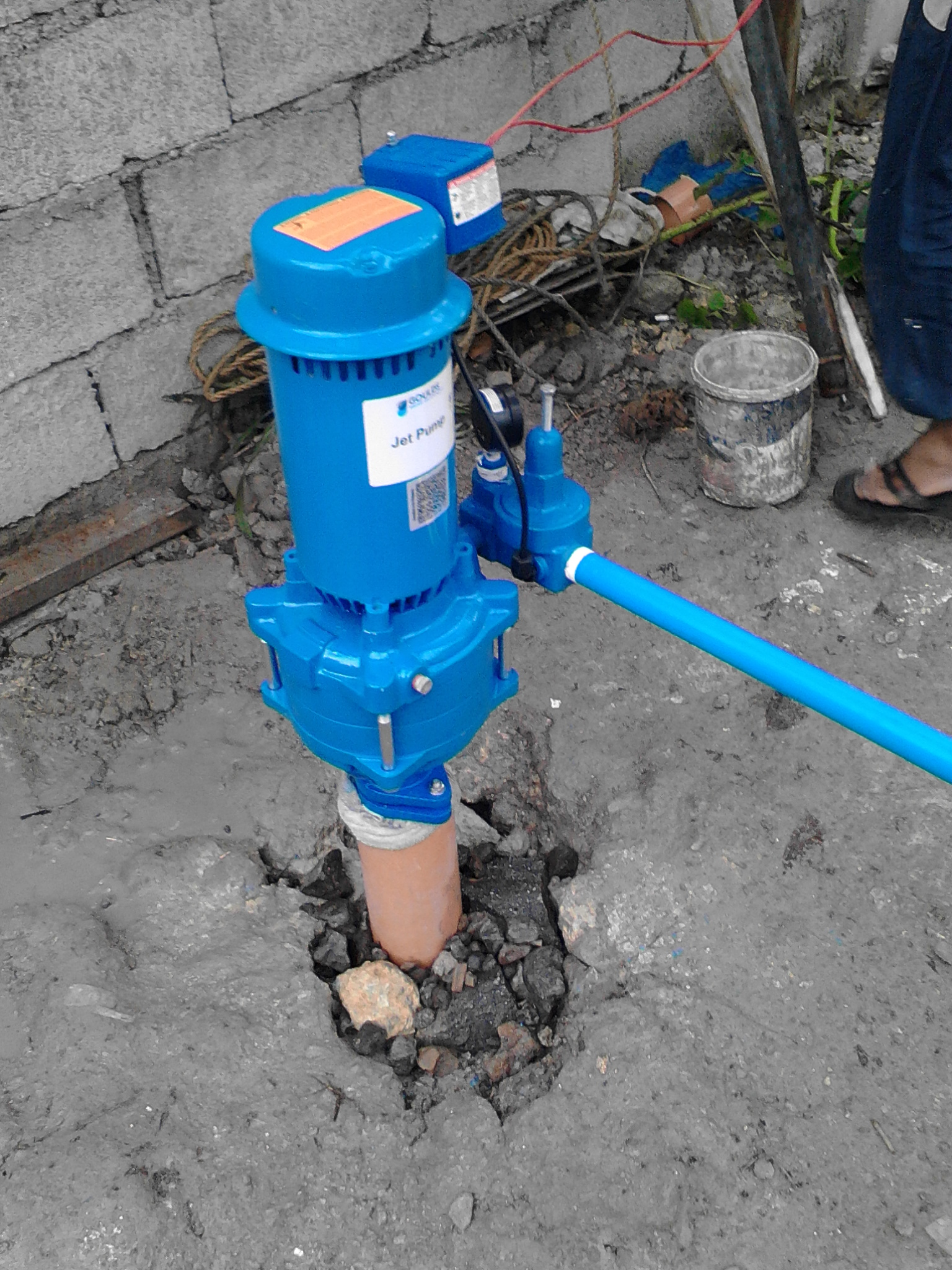 Pozo de agua en bohol filipinas fundaci n ad gentes for Oficina 2038 bankia