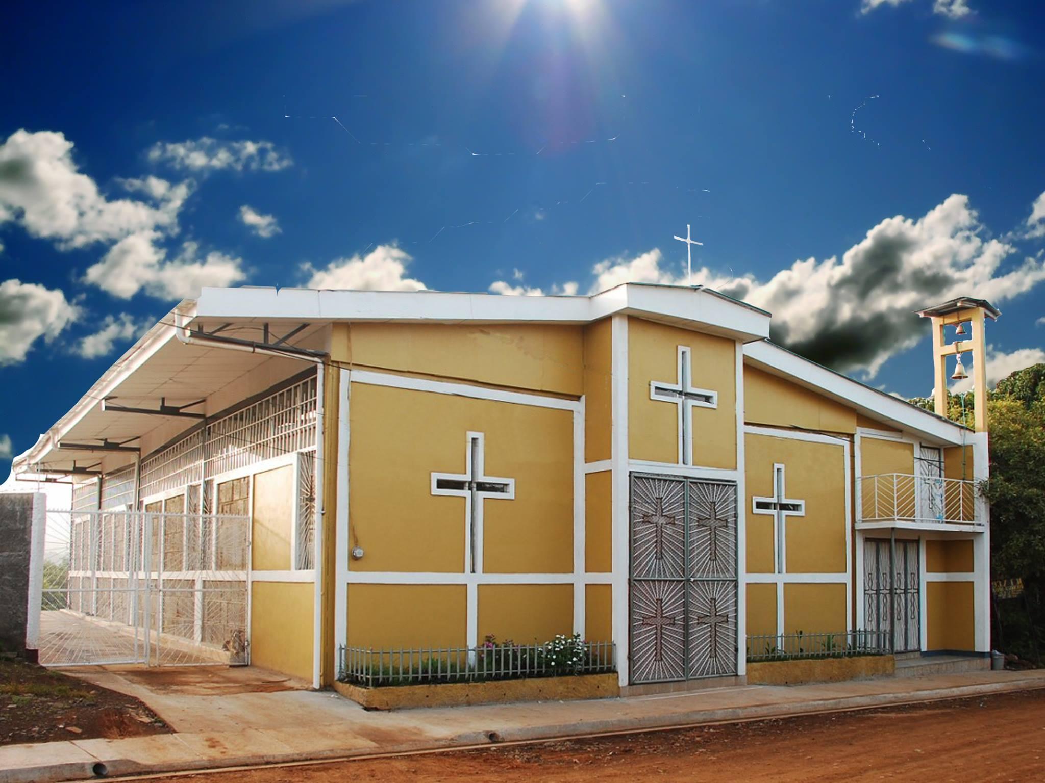 Sal n parroquial en la parroquia divino ni o en juigalpa for Oficina 2038 bankia